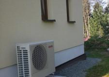 Luft-Wärmepumpe Kaut SANYO-Öko SHP-C45DEN Außenaufstellung