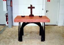 handgeschmiedetes Altartischgestell in Oberelsdorf