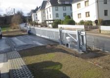 Freitragende Toranlage mit elektrischem Antrieb DL 15,00m in Klaffenbach