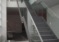 Magistralgeländer mit GlasMarte-Profilen im Justizzentrum Chemnitz (104m)