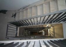 Treppengeländer in der Bundesdruckerei Berlin